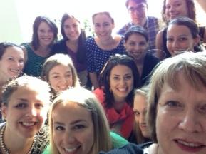Literacy Specialist and New Teacher Selfie