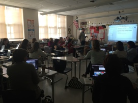 Tom Sallee teaches iMovie to enhance classroom goals