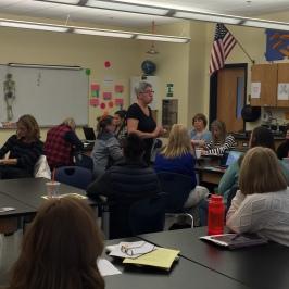 Eve Costarelli, Yoga and Mindfulness in Classroom